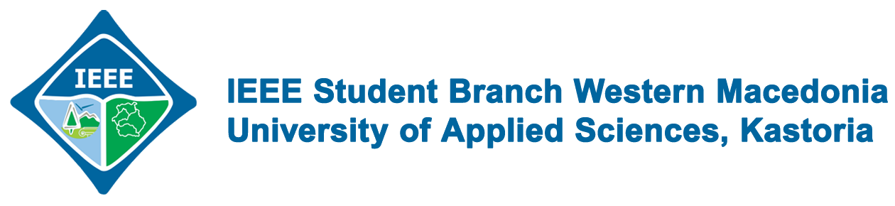 IEEE Student Branch Western Macedonia University of Applied Sciences, Kastoria Logo